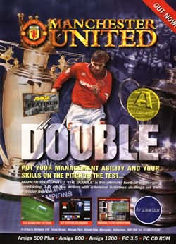Manchester United - The Double Magazine Advert